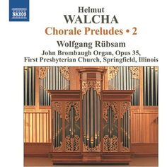 Helmut Walcha Organist