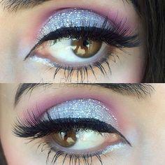 #Eyemakeup inspiration by @ajs_beauty wearing our #falsie style #GLM12 www.shopeyemimo.com/falseeyelashes-glm12