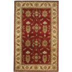 Charisma Red/Ivory 9 ft. 6 in. x 13 ft. 6 in. Indoor Area Rug