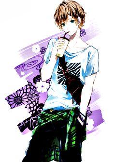 #Animeboy #Toukowhitegraphic #Coloredbyme  Se la prendi, mettere i crediti.. grazie. Eng: If you take it, put the credits.. thanks.