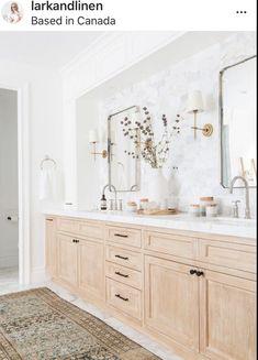 Double Sink Bathroom, Bathroom Sink Vanity, Bathroom Renos, Bathroom Renovations, Small Bathroom, Master Bathroom, Home Remodeling, Marble Bathrooms, Colorful Bathroom