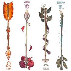 Zodiac Arrows! (2/3) DESCRIPTION BELOW  ♌️ The fletching on a Leo's arrow is made out of lion's mane. The arrows are used to protect the Leo's kingdom - it may be anything, from home to a partner. Their jewels work as fuel for incendiary shots. ♍️ Virgo's perfectionism made them extremely picky about their enemies. Although their arrow seems delicate and calm on the outside, it only takes one shot to kill. ♎️ Libras are the diplomats of the zodiac. Their arrow's tip resemble the pans in ...