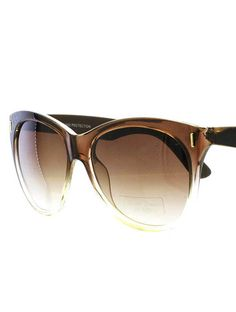 Endorsement Clear Lucite Sunglasses