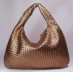 ……♥♥……  #Bottega #Veneta #Shoulder #Bags #78918 #Bronze #Bottega #Veneta #Bronze , For sale now...check it out!!! ▁▂▃