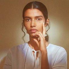 Pooja Mor for Prabal Gurung by Charlotte Wales Rose Jackson, Pooja Mor, Mos Def, Prabal Gurung, Indian Models, Studio Shoot, Face Claims, Indian Beauty, Hair Trends