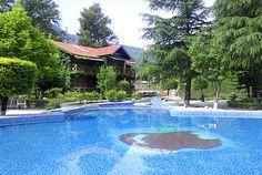 Our Beautiful Swimming Pool...#AppleValleyResortKullu