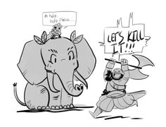 The Elephant: Monster Analysis - Crit Role Stats cracks me up!!!