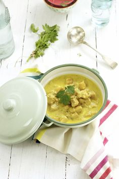 Receta de curry de pollo