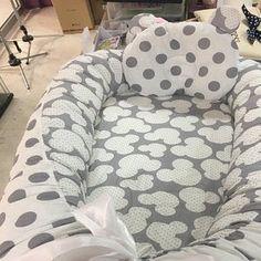 Babynest for Newborn Sleep bed Baby nest co sleeper baby Baby Nest Pattern, Baby Co Sleeper, Snuggle Nest, Baby Nest Bed, Portable Bed, Baby Pillows, Baby Blankets, Before Baby, Organic Baby