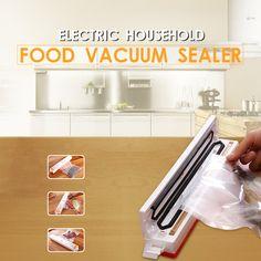 XinBaoLong Vacuum Food Sealer Electric Food Packaging Machine 430 Mmhg Vacuum Degree 100 W 220 V/50 Hz Automatic Food Processor #men, #hats, #watches, #belts, #fashion