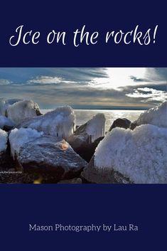 Ice on rocks, brisk winter day on Lake Superior. Meditation Prayer, Neuroplasticity, Lake Superior, Winter Day, The Rock, Rocks, Spirituality, Faith, Ice
