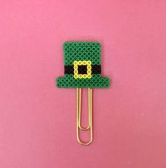Channel the luck of the Irish with this festive planner clip! The planner clip can be used in your planner to mark the week and add decoration, or used as a bookmark to keep track of where you are in your favorite novel or magazine. I personally love to use them to add a special