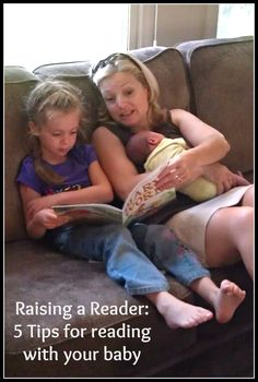 Raising a reader: 5 tips for reading with your baby! via @Catherine Moss