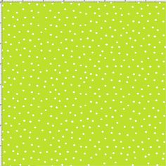 Dinky Dots Lime / White Fabric Yard