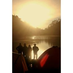 When the sunsetlight shine, Ranu Kumbolo