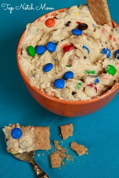 Cookie Monster Dip   Top Notch Mom