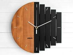 Architecture House Discover Industrial Wall Clock Unique Wall Clock Home Gift Clock Unusual Wall Clock Component Clock Wood Clock Abstract Style Industrial Decor Unique Wall Clocks, Wood Clocks, Unusual Clocks, Metal Clock, Wooden Wall Decor, Wooden Walls, Wall Wood, Whisky Spender, Wall Watch