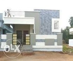 Related image #shedplans Single Floor House Design, House Front Design, Modern House Design, House Floor, Best House Plans, Dream House Plans, Wall Picture Design, Wall Design, Photo Wall