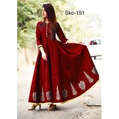 New red color taffeta silk party wear gown Party Wear Lehenga, Party Wear Dresses, Party Gowns, Ethnic Gown, Lehenga Choli Online, Silk Gown, Gowns Online, Designer Gowns, Traditional Outfits