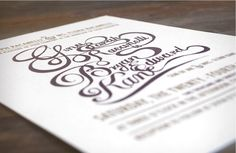 Saved by Katie Steward Discover more of the best Invites, Gina, Bryan, Wedding, and - inspiration on Designspiration Invitation Cards, Wedding Invitations, Invites, Black Sparkle, Place Card Holders, Creative, How To Make, Tandem, Unicorns