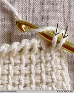 Crochet - patterns and inspiration.  **In Polish with a translate button.  And some great instruction pictures.  DeR