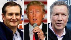 Presumptuous Politics: Trump, Cruz pressure Kasich to exit GOP primary ra...