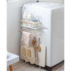 洗濯機周りに発生する小物をまとめてナチュラルに収納