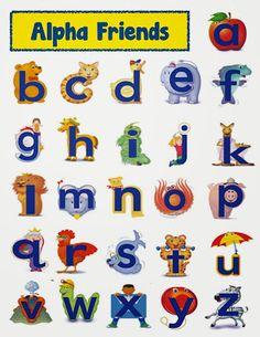 alphafriends by houghton mifflin for each letter there is a rh pinterest com Kindergarten Teacher Pre-K Teacher Salary