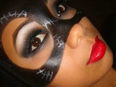 catwoman mask idea