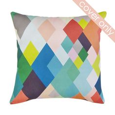 DAN300 Group - Geometric C Cushion - 50x50cm (cover only) : ex display