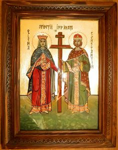 Risultati immagini per sfintii imparati constantin si elena png Jesus Christ Images, Frame, Holiday, Painting, Home Decor, Saints, Picture Frame, Vacations, Decoration Home