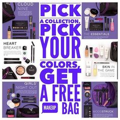 Combine and Save with a collection . As a bonus , you get a free cosmetic case !