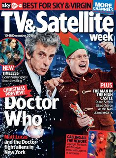 """…the Doctor has sort of saved Nardole. And in return, Nardole is kind of looking after the Doctor."" Peter on the return of Nardole at Christmas"