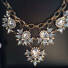✨crystal statement necklace Brand new in gift box! Jewelry Necklaces