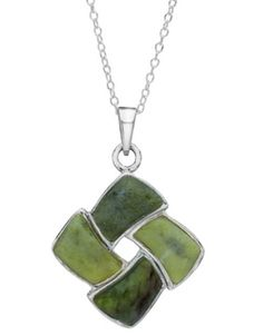 Connemara Marble Pendant and Necklace