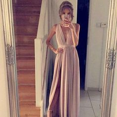 Charming Prom Dress,Sleevelss Long Prom Gown,Sexy Prom Dresses,Long