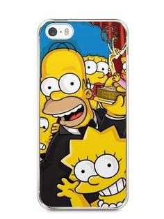 Capa Iphone 5/S Família Simpsons #2 - SmartCases - Acessórios para celulares e tablets :)