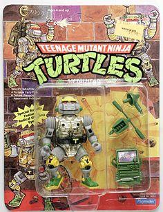 Playmates Toys TMNT Teenage Mutant Ninja Turtles Metalhead MOSC c-8