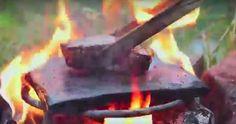 Kampta Taş Üzerinde Biftek Nasıl Pişirilir
