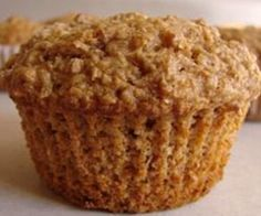 Be sure to use oat bran, not porridge oats. The apple sauce in place of some of the oil makes these muffins lighter than most. Use apple sauce, apple puree or even apple baby food. Oat Bran Muffins, Muffins Blueberry, Oatmeal Bran Muffin Recipe, Applesauce Muffins, Blueberry Breakfast, Breakfast Muffins, Dukan Diet Recipes, Gourmet Recipes, Banana Recipes