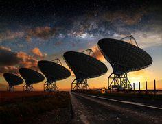 Sinal potente vindo do espaço intriga especialistas