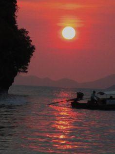 Krabi, #Thailand #Sunset