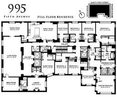 new york apartments plan - Buscar con Google