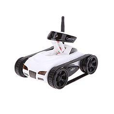 GoolRC New wifi Mini i-spy RC Tank Car RC Camera Cars Happy Cow 777-270 with 30W Pixels Camera for iPhone iPad iPod Controller-White GoolRC http://www.amazon.com/dp/B00WS2UKK8/ref=cm_sw_r_pi_dp_akSSwb1YFRA7Q