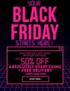 Black Friday Boohoo Email Black Friday Boohoo E-Mail Black Friday Ads, Email Design Inspiration, Promotional Design, Sale Banner, Marketing, Humor, Holiday Emails, Email Layout, Cricket