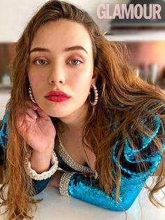 Katherine Langford Secret Beauty Products | Glamour UK Glamour Magazine Uk, Glamour Uk, Magazine Images, Hair Color Dark, Actresses, Celebrities, Hair Styles, 13 Reasons, Beautiful Beautiful