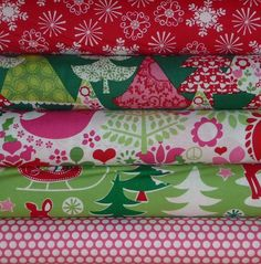 LOVE the Michael Miller Christmas fabrics