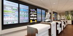 The Rowa Vmotion virtual OTC display offers pharmacies a range of options for designing OTC and self-service displays, shop windows and discreet consultations. Pharmacy Store, Store Design, Retail, Shop, Pharmacy, Apothecaries, Sleeve, Retail Merchandising, Store