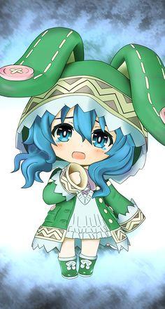 Loli Kawaii, Kawaii Chibi, Cute Chibi, Anime Chibi, Kawaii Bunny, Date A Live, One Punch Anime, Anime Date, Hokusai