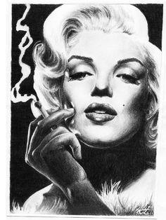 Photo Drawings Of Marilyn Monroe | Culies Finest Marilyn Monroe Photo 5